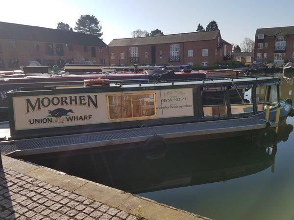 Moorhen day boat hire